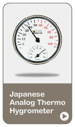 Japan Made Thermo Hygrometer