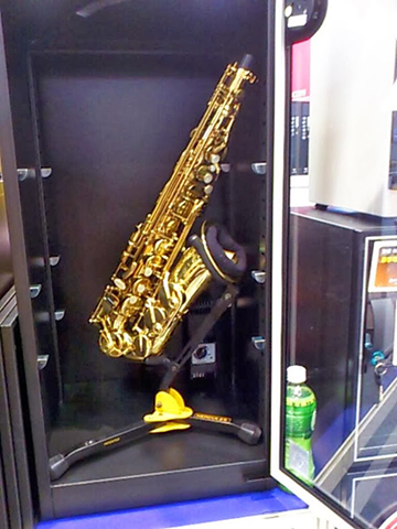 Humidity Proof Saxophone Storage Cabinet