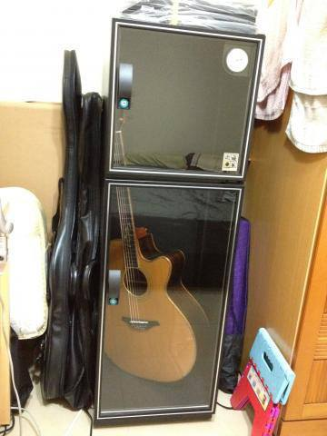 Personal Guitar Storage Cabinet-2