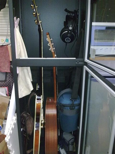 Humidity Proof Guitar Storage Cabinet