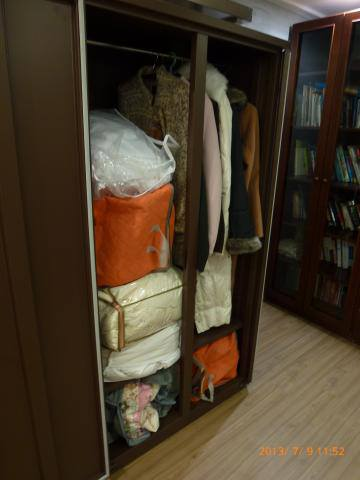 Fur Coats, and Linen Stored in Eureka Dry Tech HD-1501M Auto Dry Box