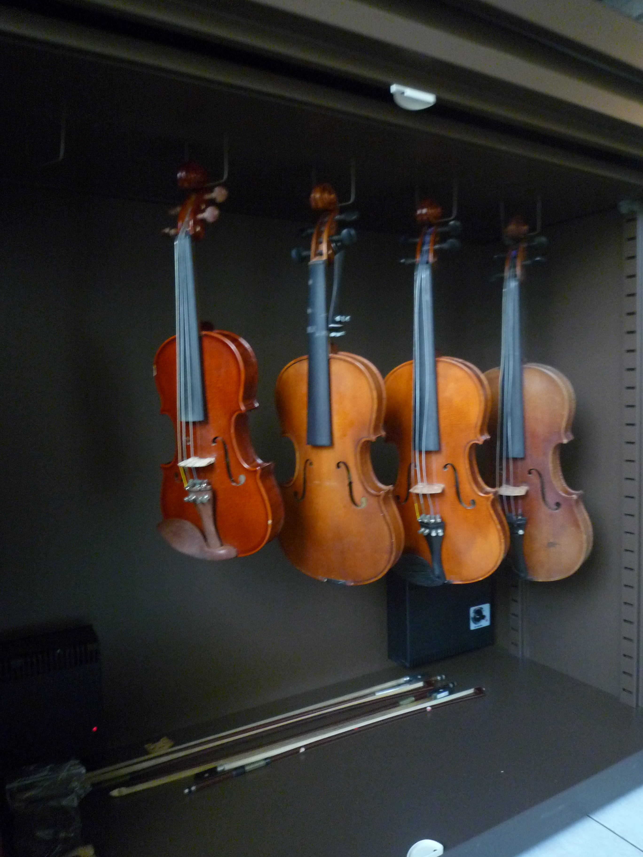 Humidity Proof Multi Violin Storage Cabinet-2