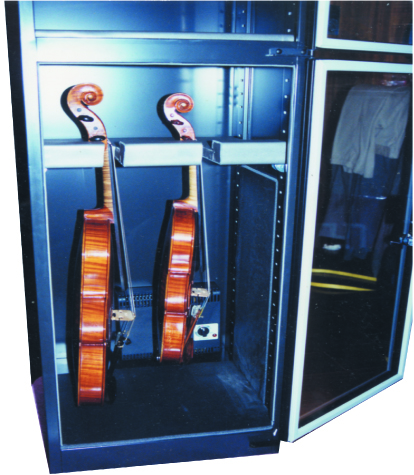 Humidity Proof Violin Storage Cabinet