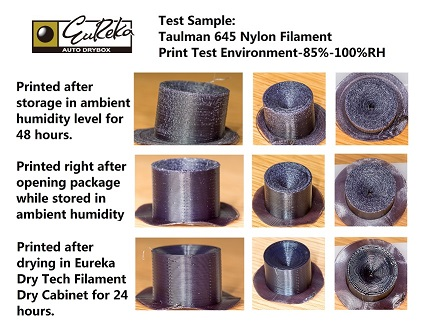 Test result of Taulman 645 Nylon Filament