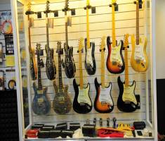 Eureka customized guitar display case